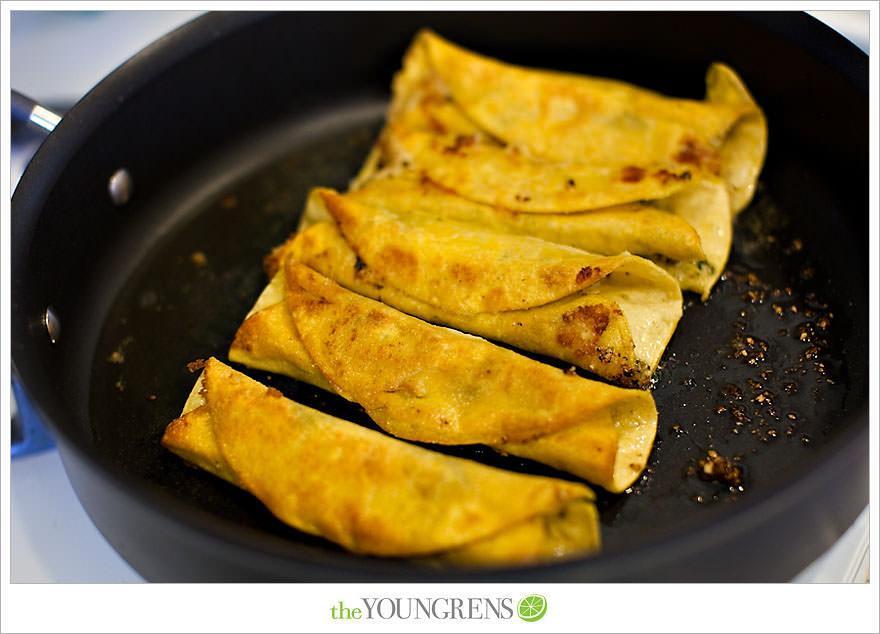 Recipe Sunday | Cheese Flautas with Cilantro Pesto | The Youngrens ...