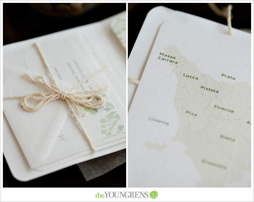 Inspired by our brides italy destination wedding invitations the these two did such a great job of introducing the wedding location to their guests when it comes to throwing a destination wedding its all about intimate stopboris Images