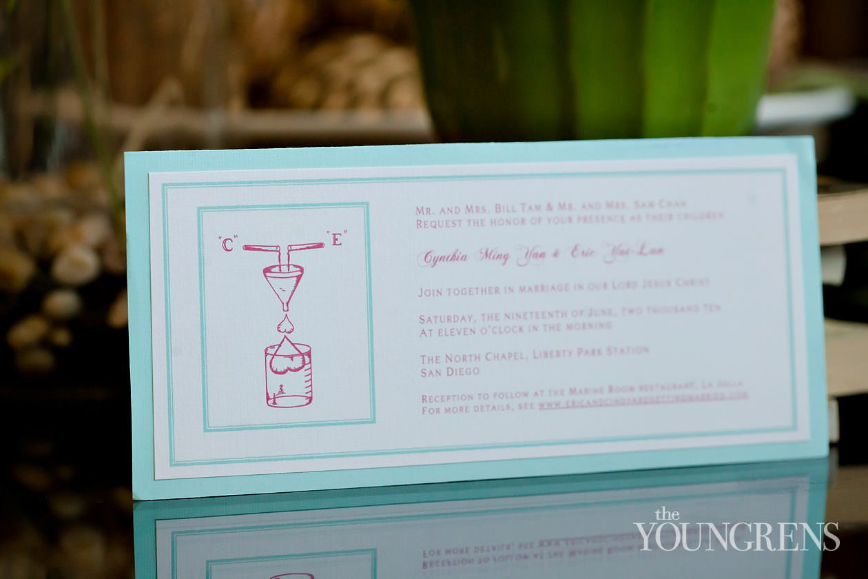 Wedding Invitations, San Diego Wedding Invitations, Creative Wedding  Invitations, Science Themed Invitations,