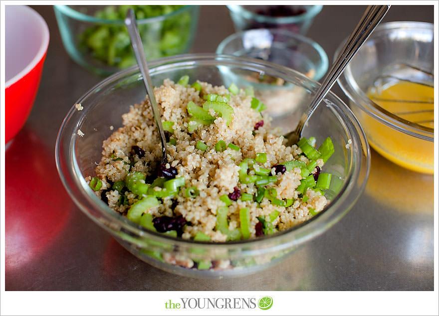 recipe for quinoa, quinoa recipe, quinoa salad recipe, quinoa salad with orange vinaigrette, healthy quinoa salad recipe, healthy recipe, easy quinoa recipe, easy recipe, easy lunch recipe