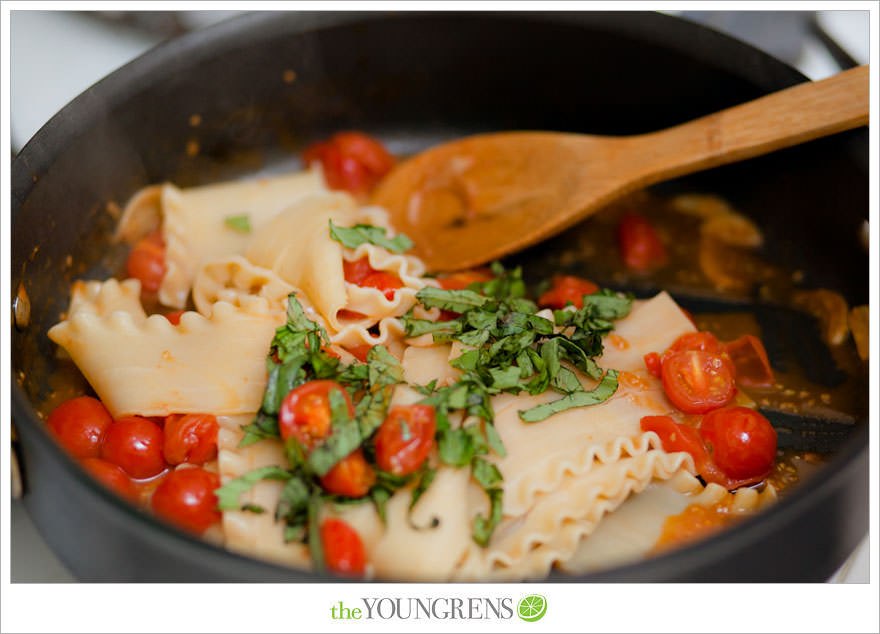 No-Bake Lasagna with Ricotta and Tomatoes | The Youngrens | San Diego ...