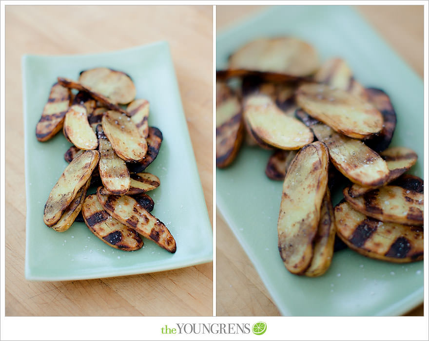 Grilled Salt and Vinegar Potato Slices, grilled potato recipe, salt ...