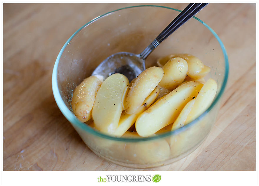Grilled Salt and Vinegar Potato Slices | The Youngrens ...