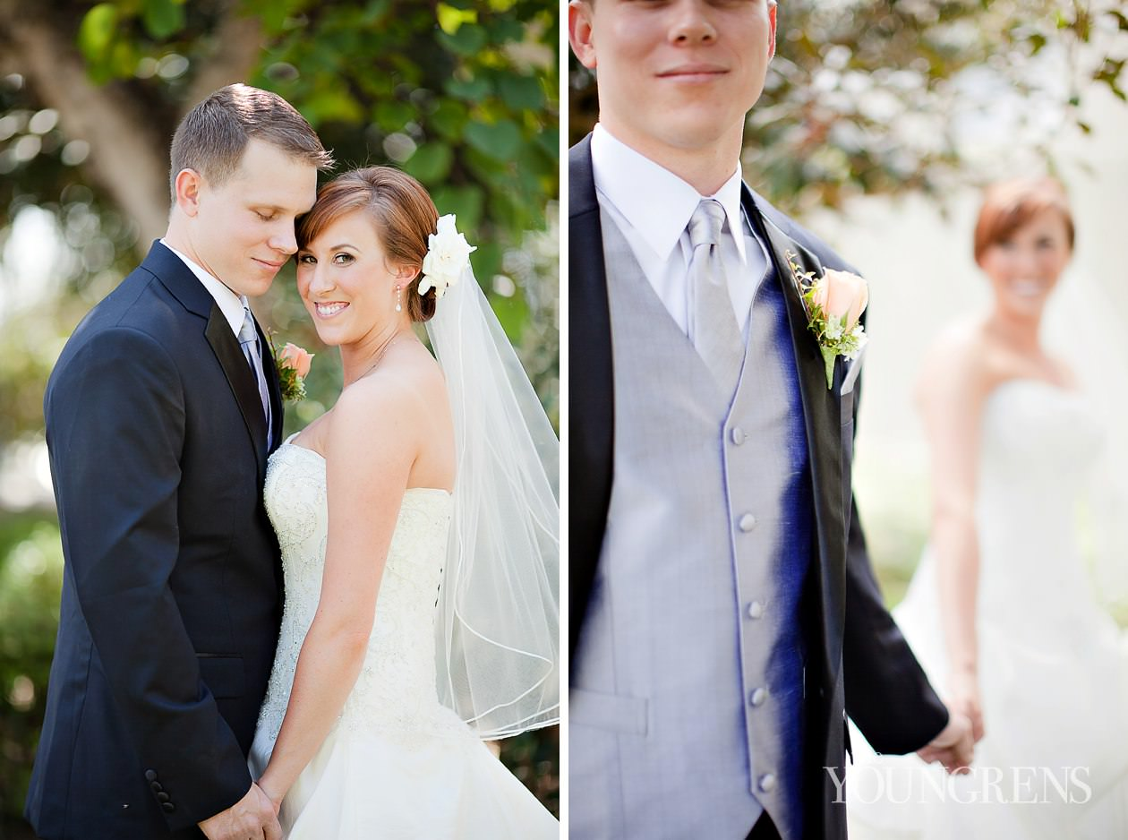 L'Auberge Del Mar wedding, Del Mar wedding, seaside wedding, beach wedding, peach wedding, boutique hotel wedding, San Diego wedding