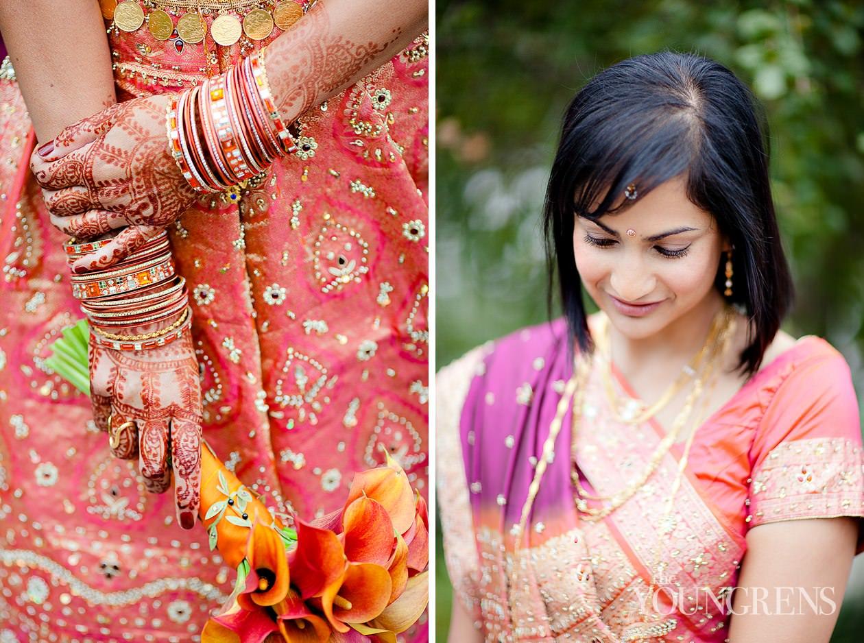 Indian wedding, San Diego Indian wedding, Hindu wedding, Del Mar Wedding, L'Auberge Del Mar wedding, Seagrove Park ceremony, multi-cultural wedding, red wedding, seafoam wedding, seaside wedding, beach wedding