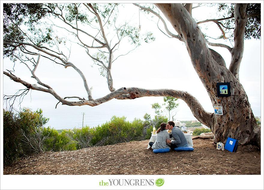 Torrey Pines proposal, proposing at Torrey Pines State Park, San Diego proposal story, La Jolla proposal story, L'Auberge proposal, Del Mar proposal, Point Loma Nazarene University proposal, PLNU proposal story, PLNU engagement Torry Pines State Park engagement