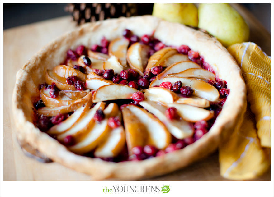 Fresh Pear and Cranberry Pie, winter pie recipe, pie crust recipe, how ...