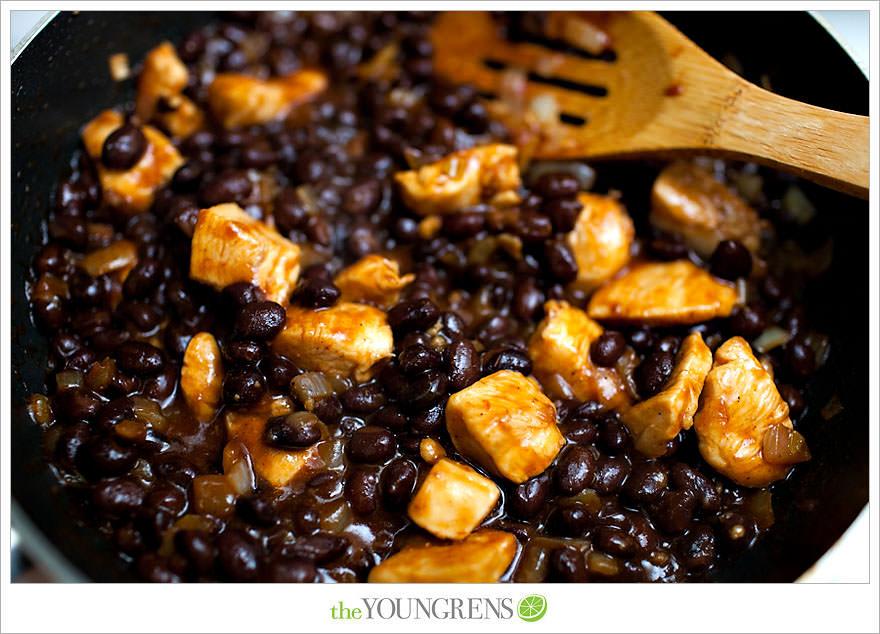 Jillian Michaels Meal Plan, Jillian Michaels Ripped in 30, healthy recipe, healthy lunch recipe, black bean recipe, black bean burrito recipe