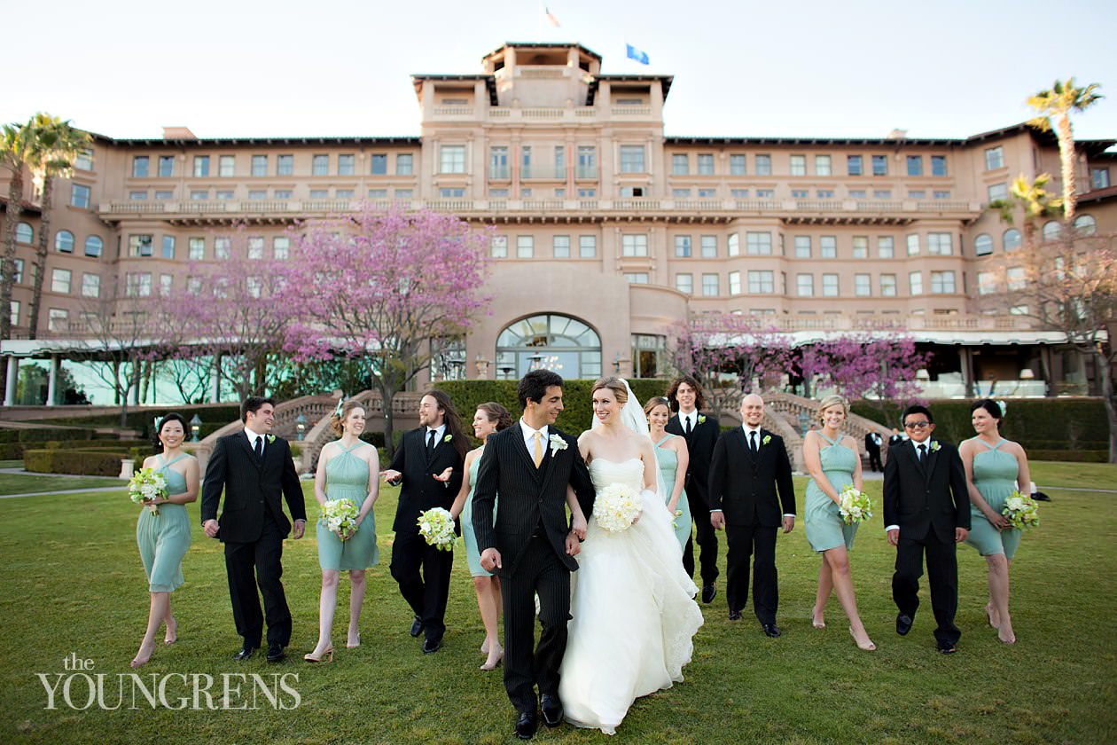 Pasadena Wedding Langham Hotel Sage Colors