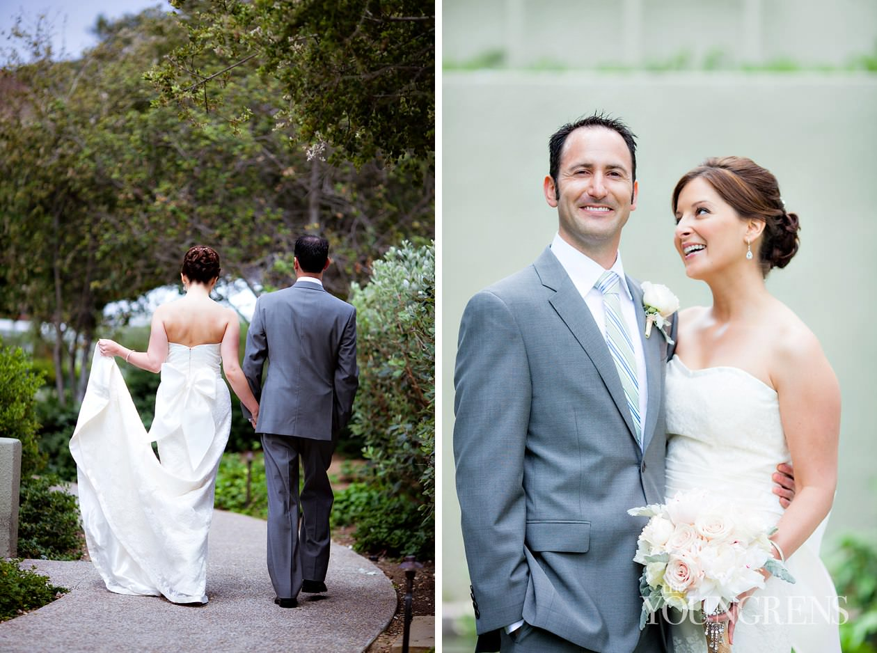 LAuberge Del Mar wedding, Seagrove Park wedding, Del Mar wedding, seaside wedding, beach wedding, small wedding, wedding with long table, Karen Tran Florals, Emily Smiley Fine Weddings and Soirees, Platinum Pro rentals, Platinum Pro heat lamps