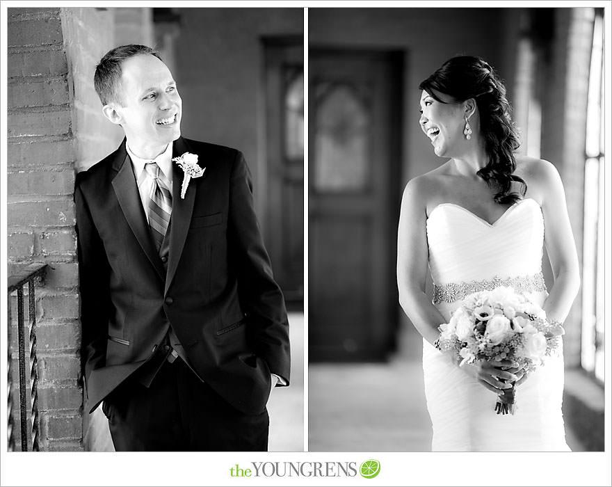 Downtown San Diego Wedding, downtown, elegant, timeless, classic, traditional, church, grey, blue, wedding