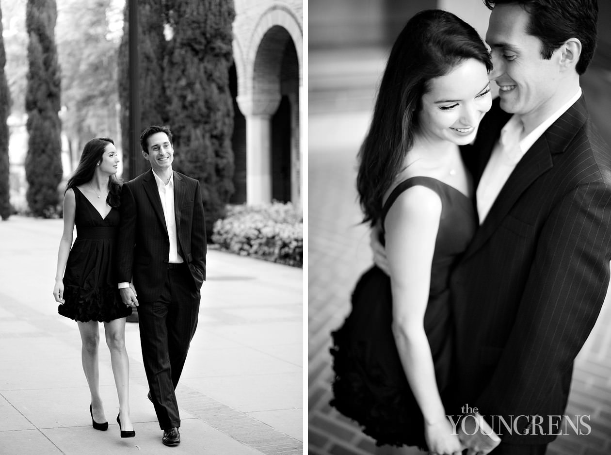 Black dress engagement photos - Black Dress Outfits For Fall Engagement
