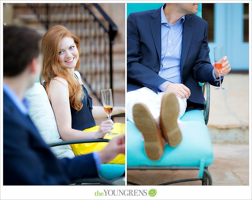 Malibu engagement, Malibu house engagement, Malibu estate engagement, estate engagement, backyard engagement, champagne engagement, lemon engagement, pool engagement