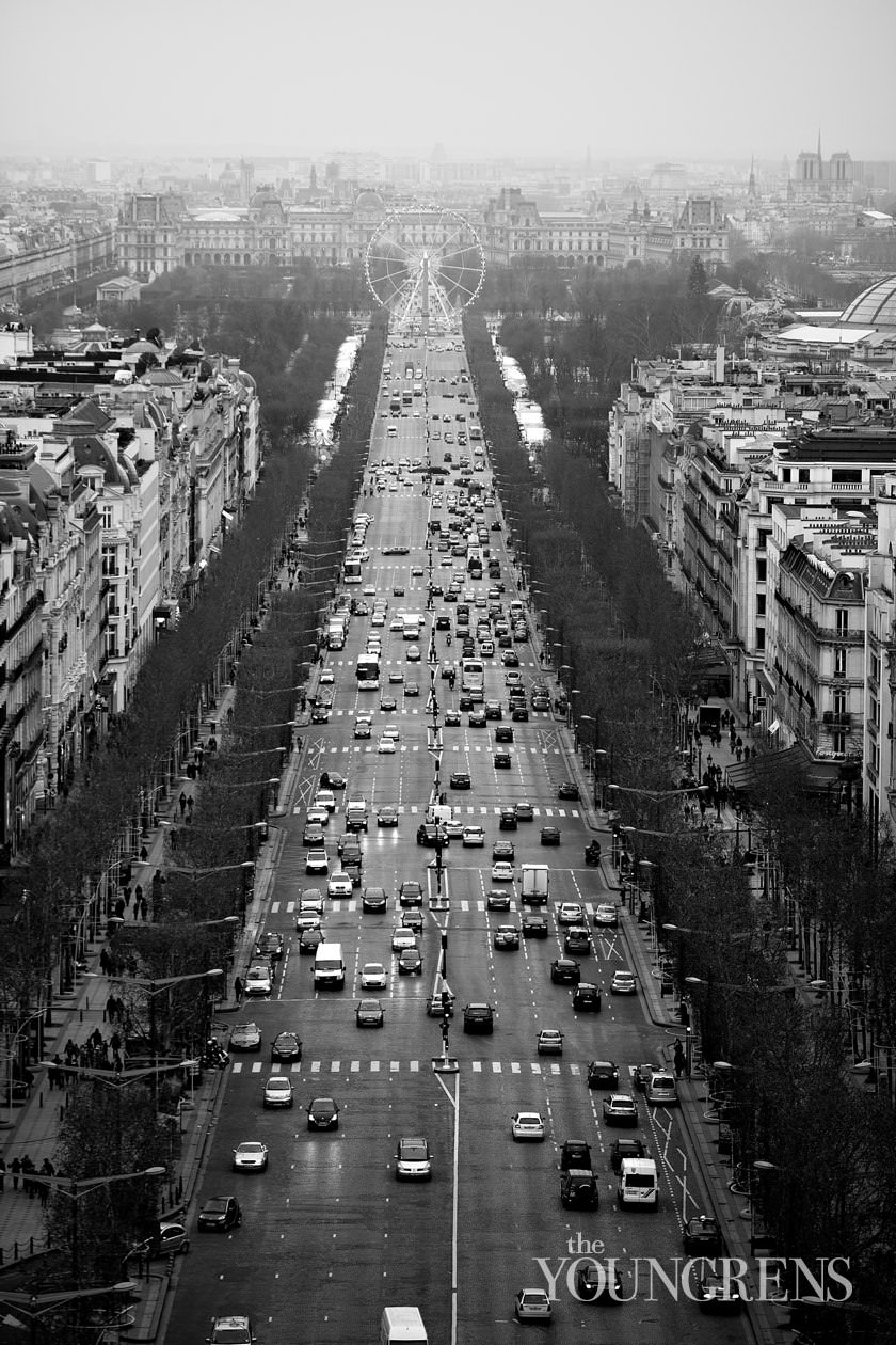 Paris images, city images, Paris urban images, Paris at Christmas, Paris photography, Louvre images, Paris night photography, Notre Dame images, view from the Arc de Triomphe, view of the Champs de Elysee, Eiffel Tower images, Eiffel Tower from the Arc de Triomphe