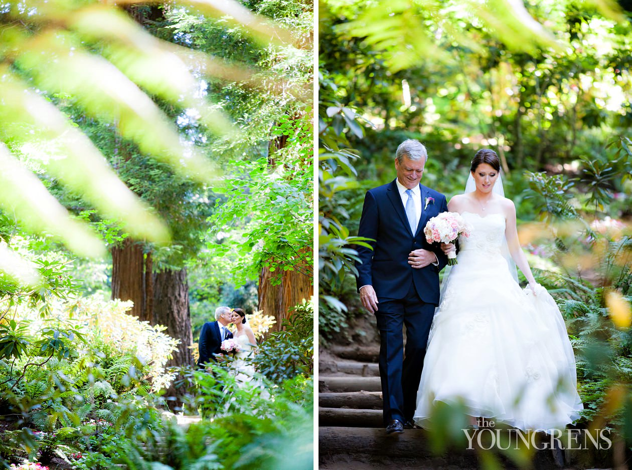 Nestldown wedding part one brendan and emily the for Wedding dresses northern california