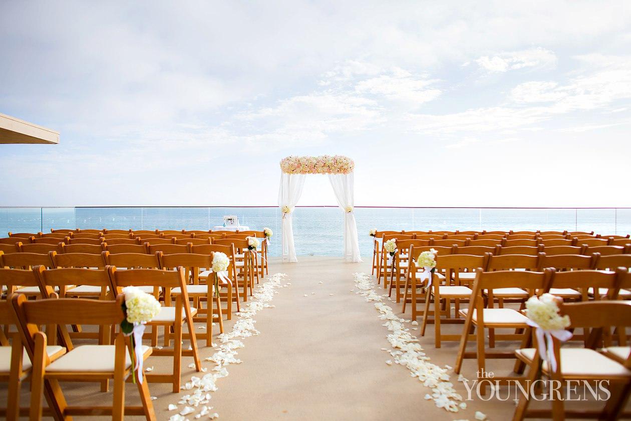 Laguna Beach wedding, Surf and Sand Resort wedding, beach wedding, seaside wedding, resort wedding, Orange County wedding, Asian wedding, royal blue wedding, orchid wedding, ballroom wedding
