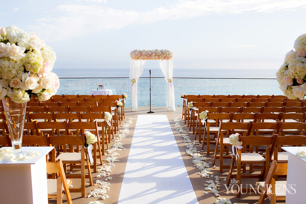 Laguna Beach Wedding Surf And Sand Resort Seaside