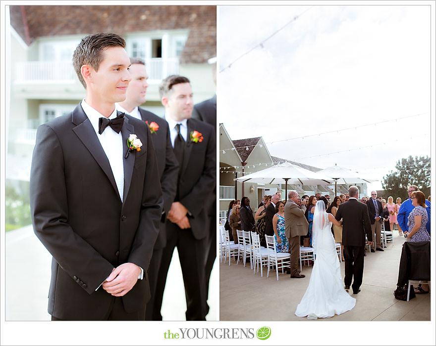 Lauberge Del Mar Wedding, Del Mar Wedding, seaside wedding, beach wedding, Del Mar beach wedding, Pacific Terrace ceremony, Pacific Terrace reception, Lauberge wedding