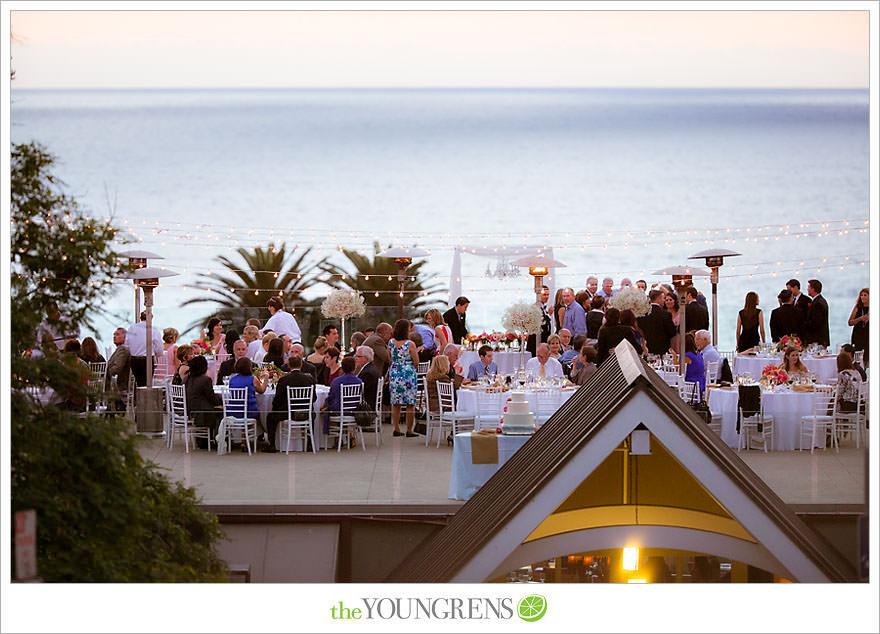 Lauberge Del Mar Wedding Seaside Beach