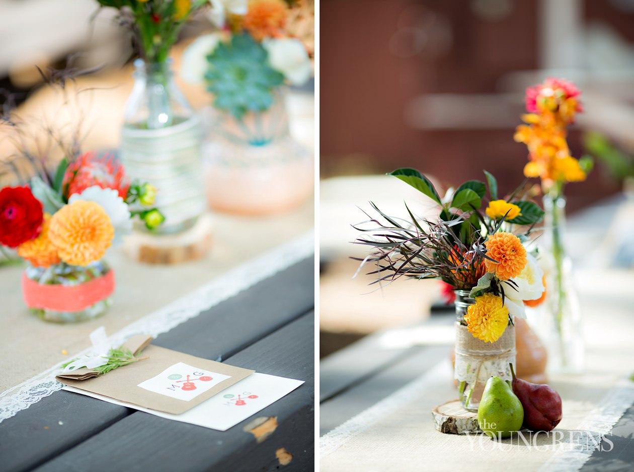 Bommer Canyon wedding, Irvine wedding, rustic wedding, fall wedding, peach wedding, bluegrass wedding