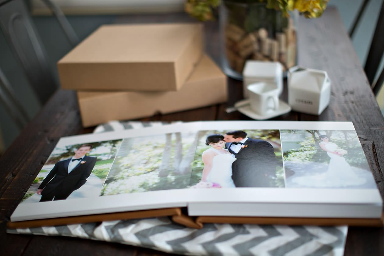 KISS wedding albums, flushmount wedding album, 12x12 KISS wedding album, wedding book, LAuberge Del Mar Wedding, seaside wedding, cream wedding, Del Mar wedding