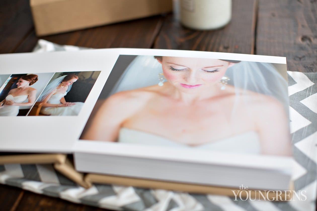 KISS wedding albums, flushmount wedding album, 12x12 KISS wedding album, wedding book, Estancia wedding, La Jolla wedding, pink wedding