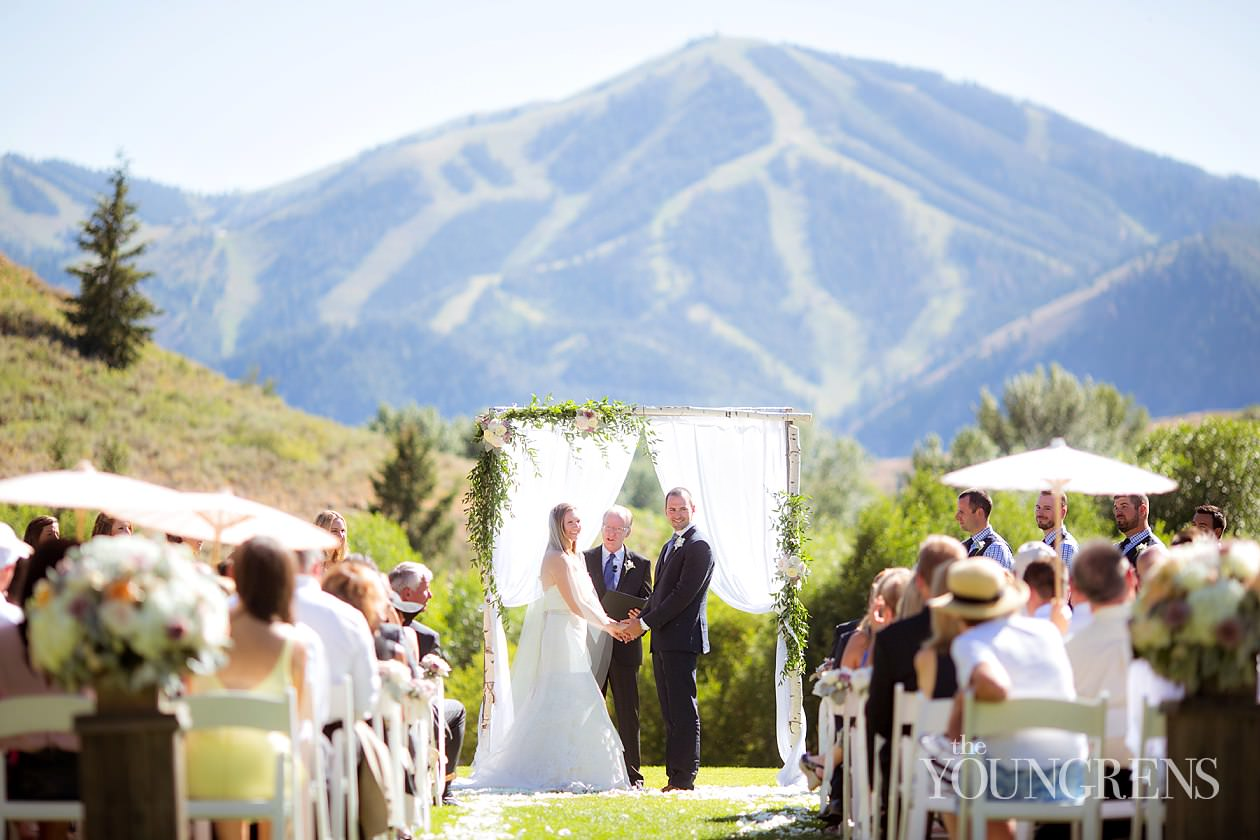 Sun Valley Wedding Idaho Resort Trail Creek Cabin