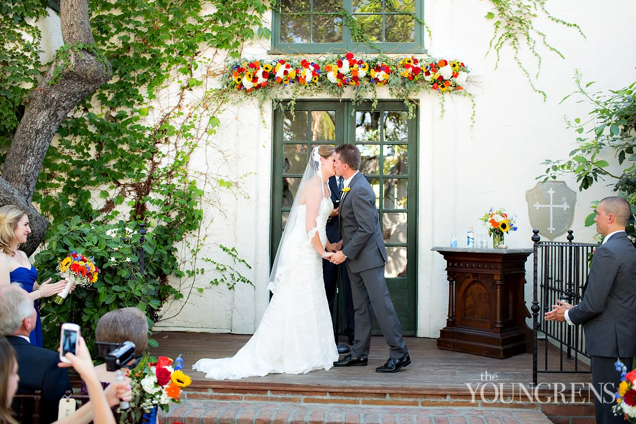 Villa San Juan Capistrano Wedding, San Juan Capistrano Wedding, orange county wedding, rustic wedding, fall wedding, villa sjc wedding photography, red and yellow wedding, sunflower wedding
