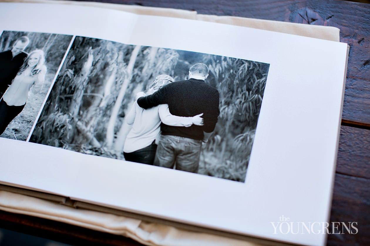engagement guestbook, linen guestbook, sign-in guestbook for weddings, KISS linen album, linen wedding album, engagement album, Nixon Library wedding, Richard Nixon Foundation wedding