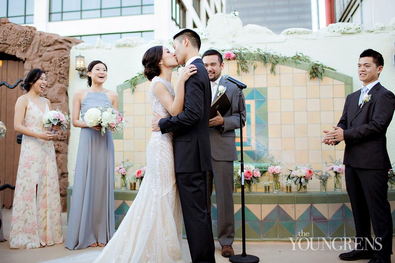 Vintage Wedding Dresses San Diego 27 Simple Downtown LA Wedding oviatt