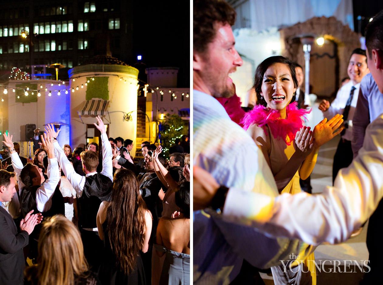 Downtown LA Wedding, oviatt penthouse wedding, rooftop wedding, vintage wedding, mid-century wedding, downtown wedding, los angeles wedding, oviatt penthouse ceremony, oviatt penthouse reception, grand park wedding photos, la athletic club wedding, la athletic club wedding party