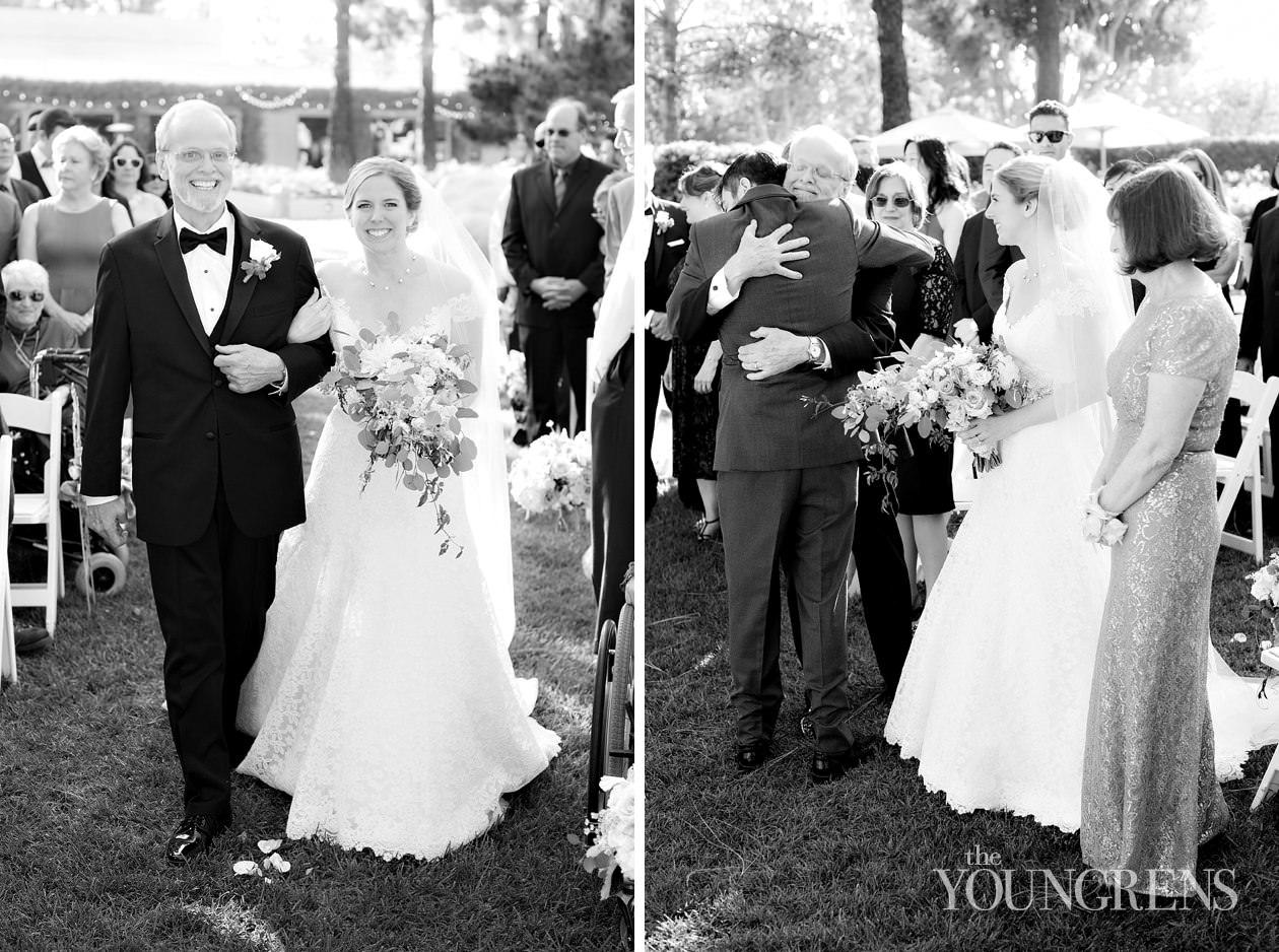 costa mesa wedding, purple blush wedding, blush wedding, turnip rose wedding, lace wedding dress, waterfall bouquet, eucalyptus florals, classic wedding, elegant wedding, ballroom wedding, film