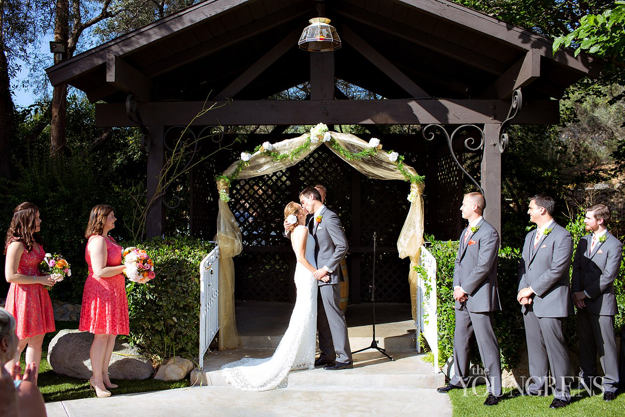 Bernardo Windery Wedding Rancho San Go Winery Rustic