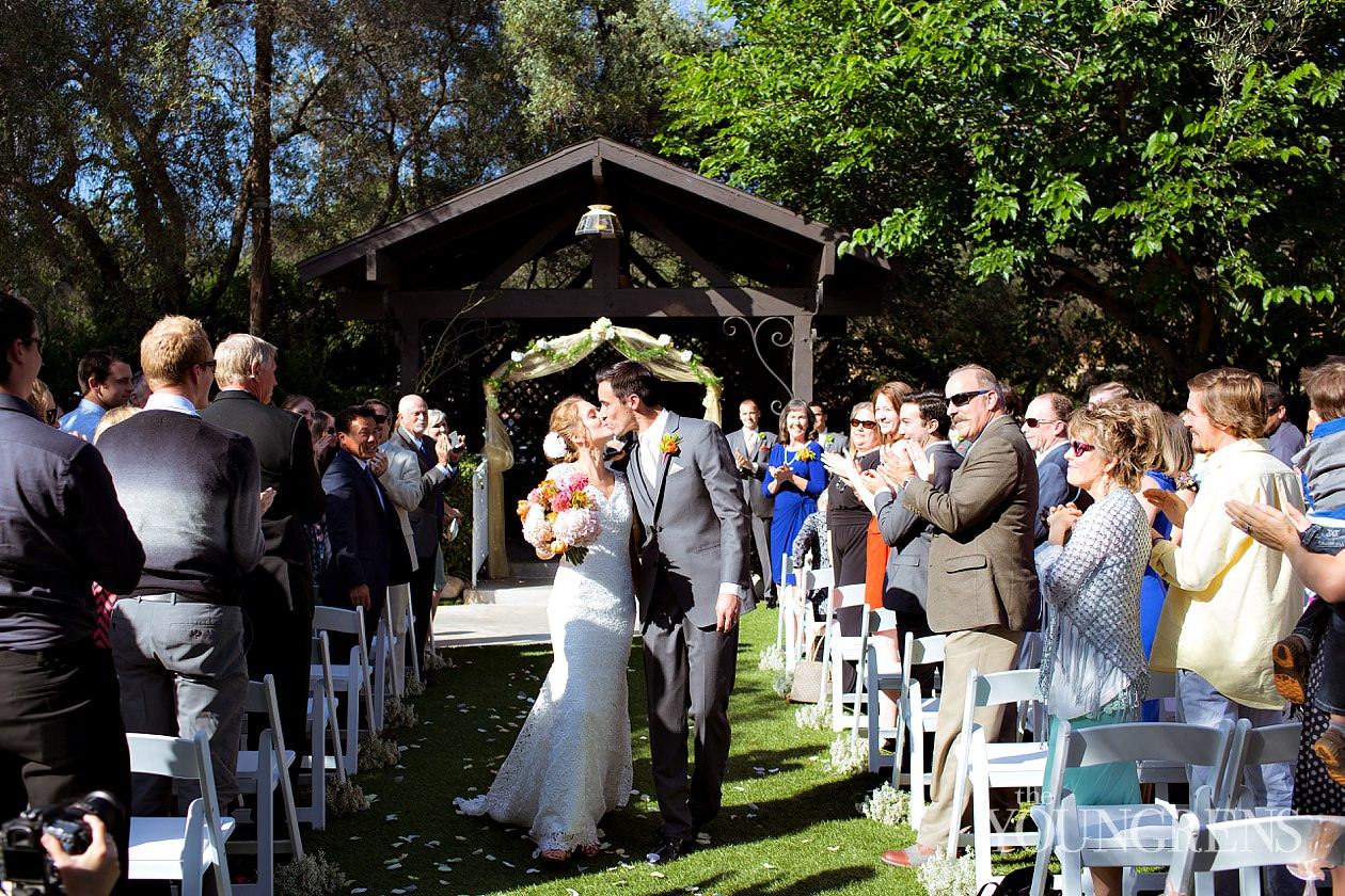 Bernardo Windery Wedding Rancho San Go Winery Rustic