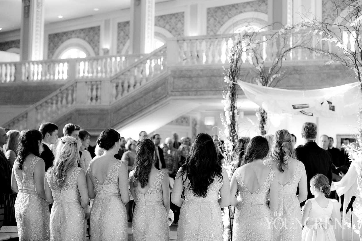 National Museum of Women in the Arts wedding, museum wedding, downtown washington dc wedding, dc wedding, washington wedding, black tie wedding, ballroom wedding, classic wedding, elegant wedding, jewish wedding, urban wedding, city wedding, Ashlee Virginia events wedding