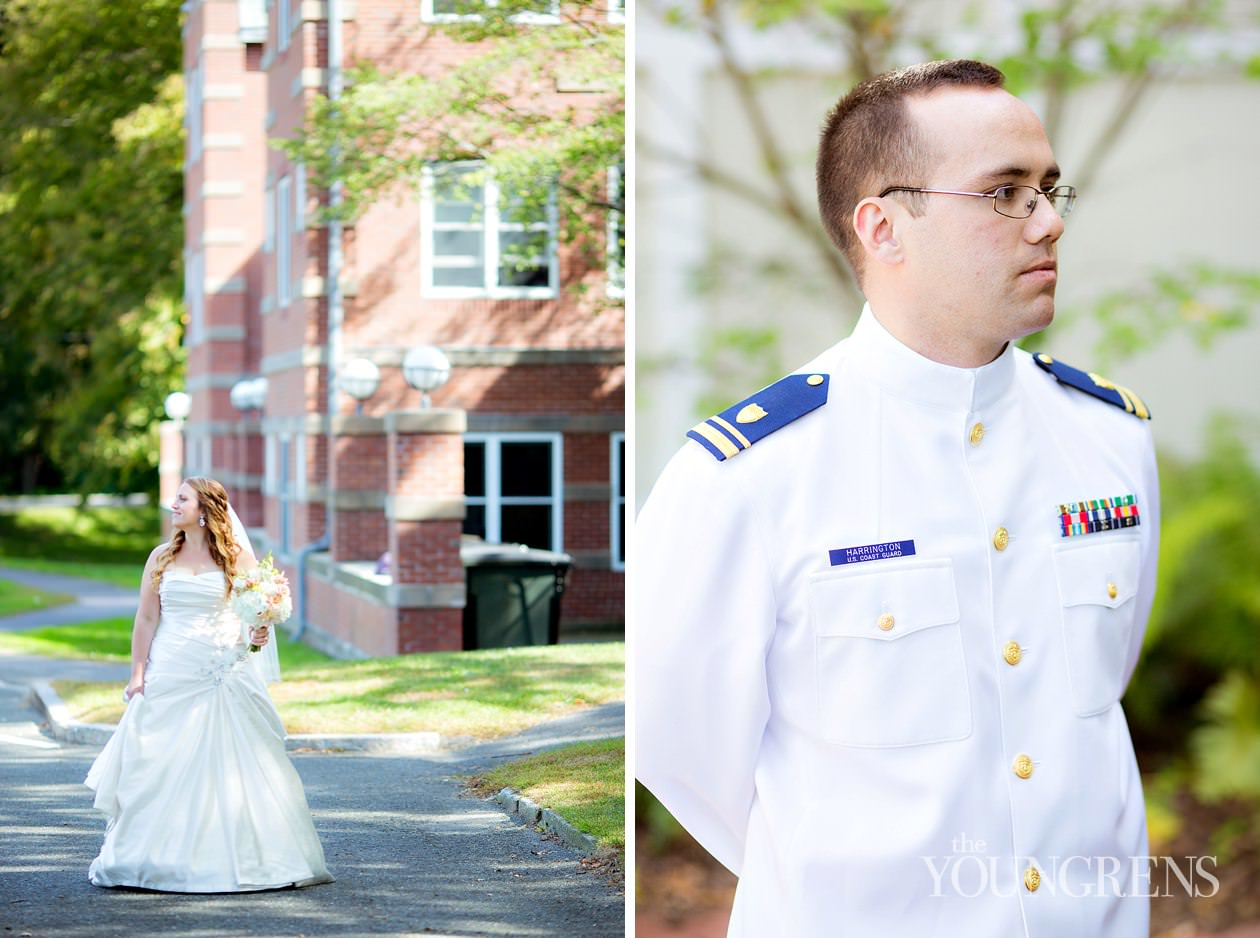 amherst women's cub wedding, amherst wedding, massachusetts wedding, new england wedding, coast guard wedding, military wedding, sword arch wedding, amherst college wedding, fall new england wedding