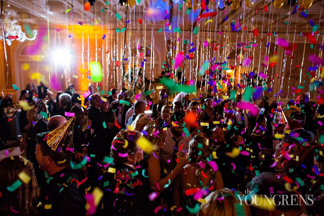 Park Hyatt Aviara wedding, New Years eve wedding, NYE wedding, black tie wedding, black tie new years eve wedding, san diego new years eve wedding, midnight kiss, bride and groom new years eve, black and white new years eve wedding, susanne duffy wedding, crown weddings new years eve