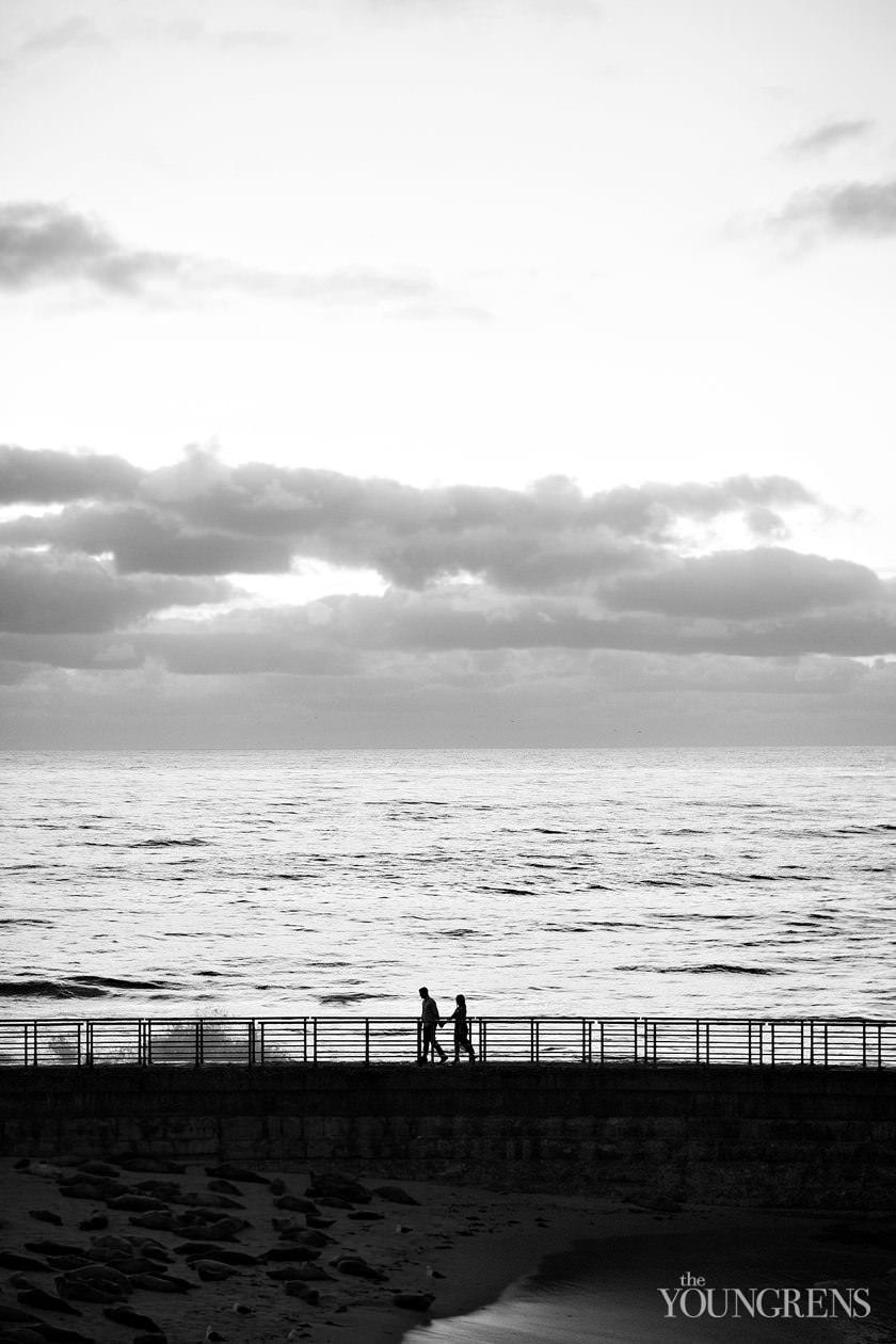 la jolla engagement session, city engagement session, seaside engagement, cliffs engagement, bluffs engagement, ocean engagement, la jolla childrens pool engagement, classic engagement, refined engagement, romantic engagement