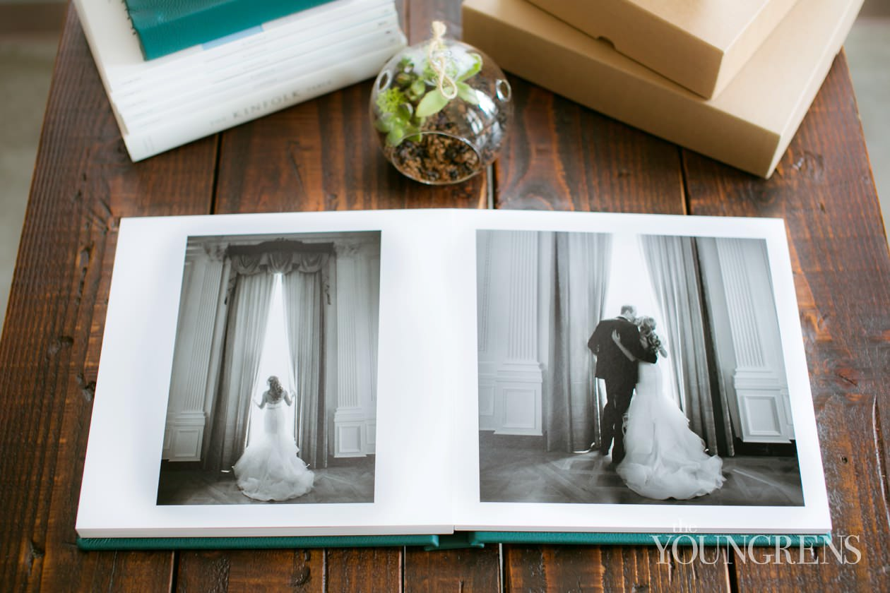 san diego wedding, wedding album, KISS wedding albums, flushmount album, leather wedding album