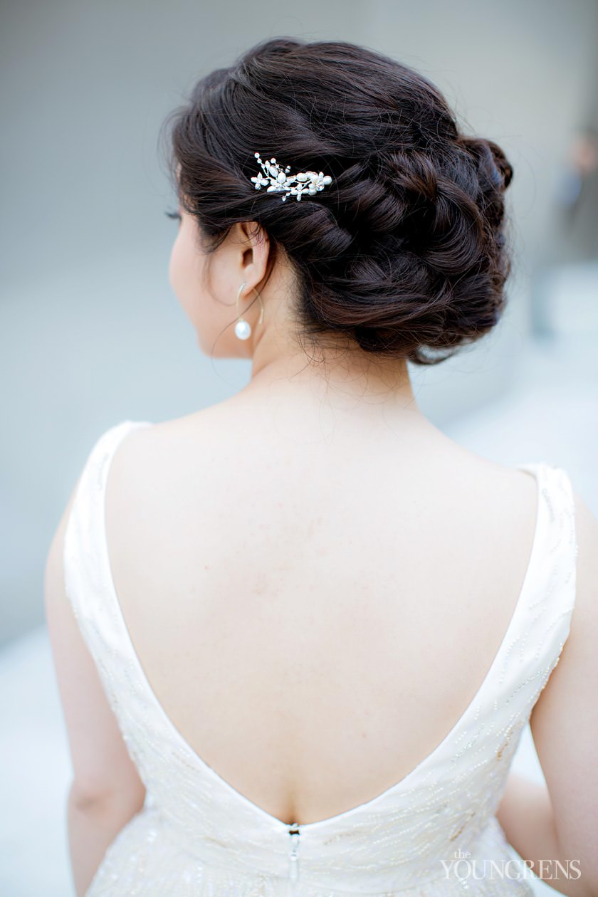 The Great Wedding Hair Debate Should You Wear Your Hair Up or Down ...
