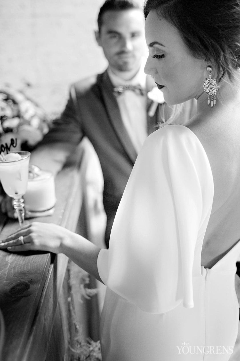 Wedding Dress Rentals San Diego 80 Vintage industrial glamour wedding inspiration