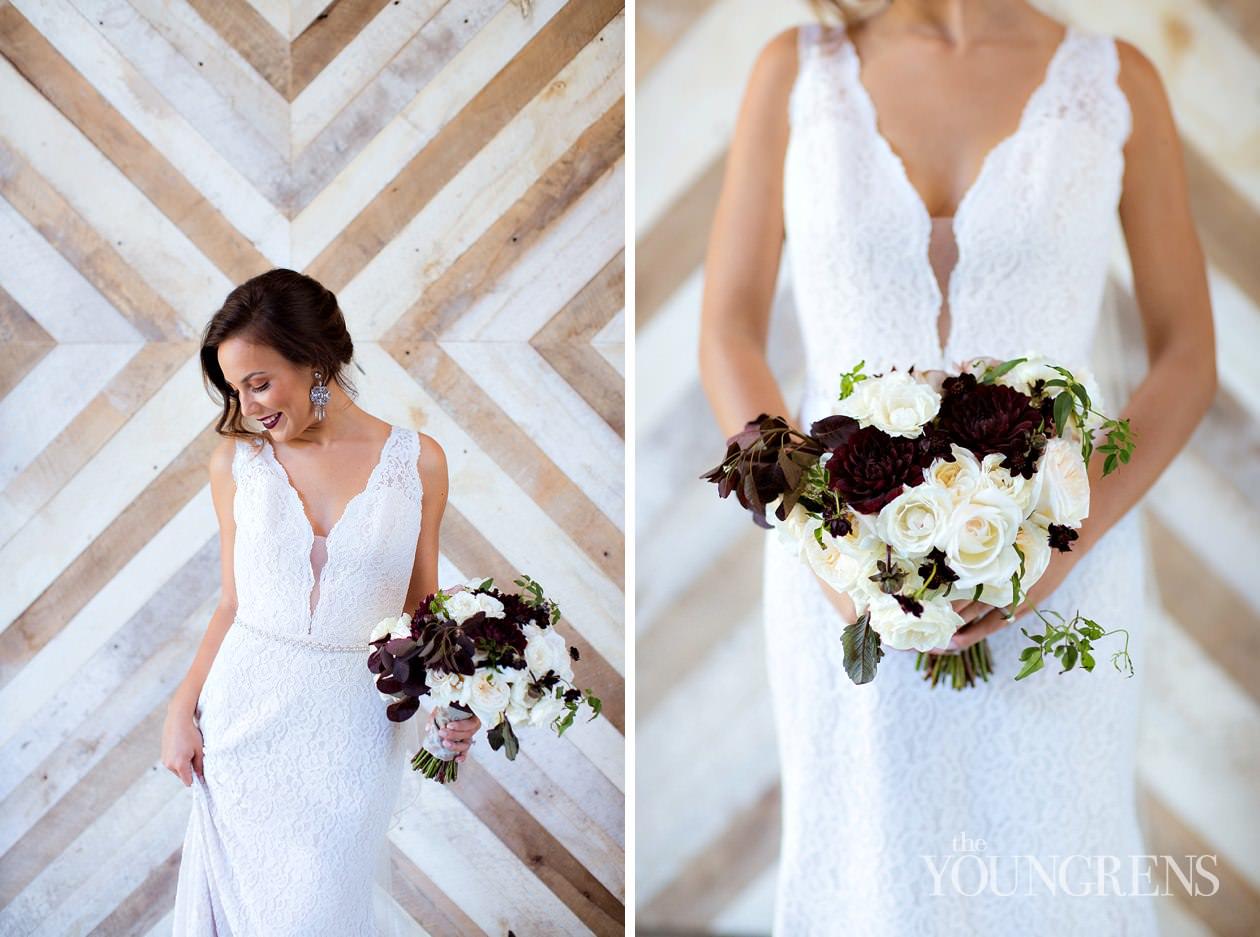 San Diego Wedding Gowns 16 New industrial glamour wedding inspiration