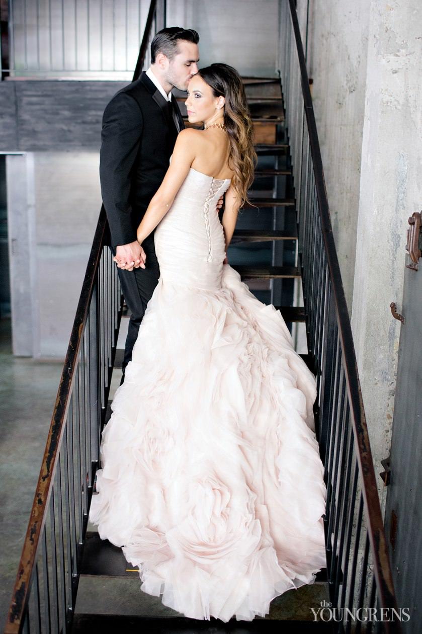 San Diego Wedding Gowns 22 Popular industrial glamour wedding inspiration