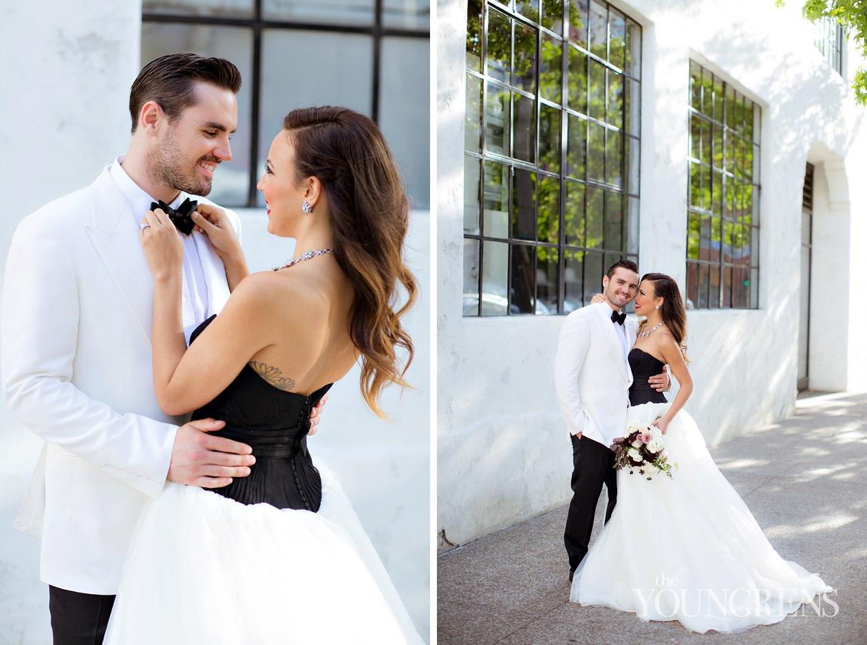 San Diego Wedding Gowns 17 Vintage industrial glamour wedding inspiration