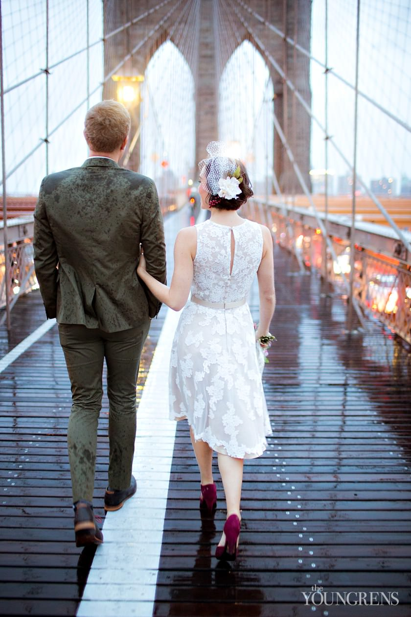new york courthouse wedding, classic courthouse wedding, downtown courthouse wedding, new york city wedding, brooklyn bridge wedding, brooklyn bridge courthouse wedding, brooklyn bridge portrait session, subway courthouse wedding photos, subway portrait session, new york subway photography