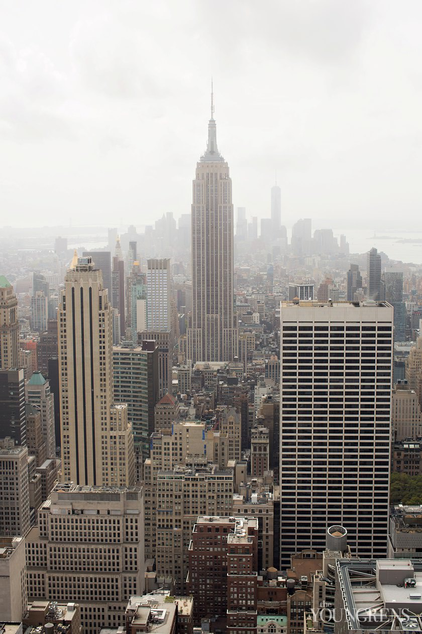 new york photography, top of the rock photos, rockefeller center, skyline view of new york, empire state building photos