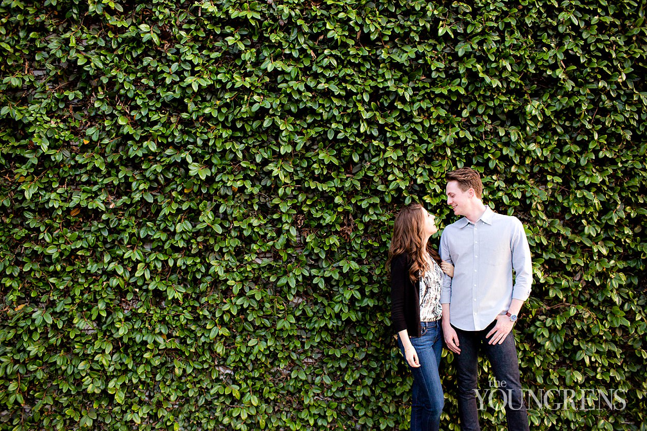 west hollywood engagement, restaurant engagement, date night engagement, los angeles engagement, coffeehouse engagement, terrine engagement, blue bottle coffee engagement