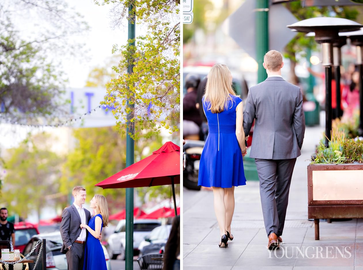 little italy engagement session, downtown san diego engagement session, urban engagement session, city engagement session, classic engagement session, pappalecco engagement, restaurant engagement, cafe engagement, wine engagement, lifestyle engagement session, gelato engagement session