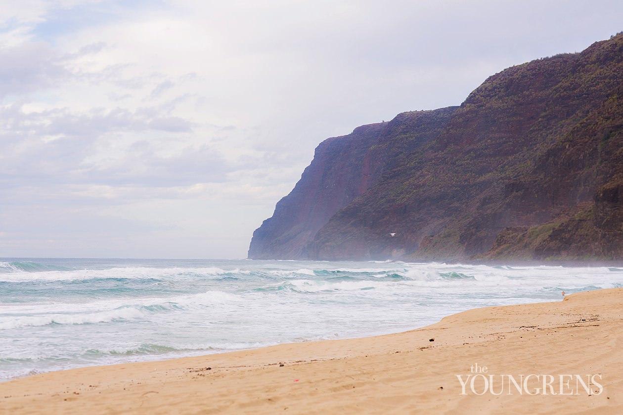 kauai, photos on kauai, family portraits on kauai, barking sands beach, barking sands beach in kauai, portraits at barking sands beach, photos of waimea canyon, landscape photography of waimea canyon, sunset photography in hawaii, kauai sunset, kauai vacation, kauai honeymoon