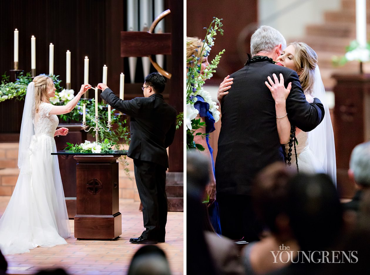 Rancho Santa Fe Wedding Village Presbyterian Church Ceremony
